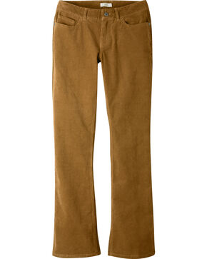 Mountain Khakis Women's Canyon Cord Slim Fit Pants - Petite, Brown, hi-res