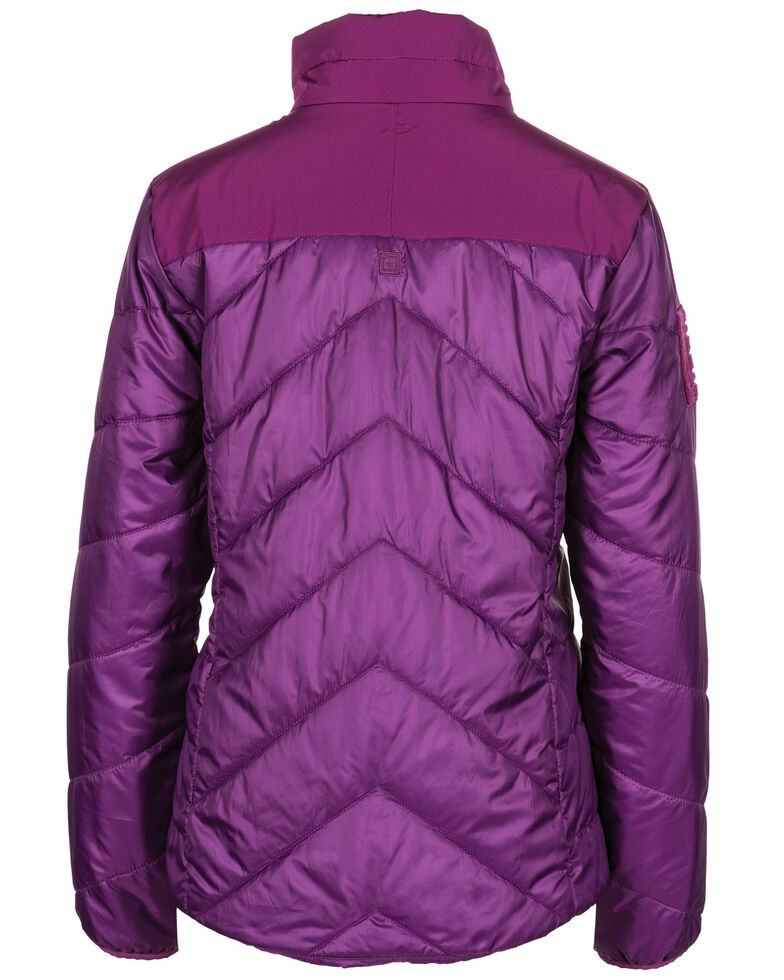 5.11 Tactical Women's Peninsula Insulator Pack-able Jacket , Purple, hi-res