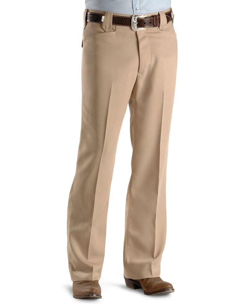 Circle S Men's Heather Ranch Dress Pants, Stone, hi-res