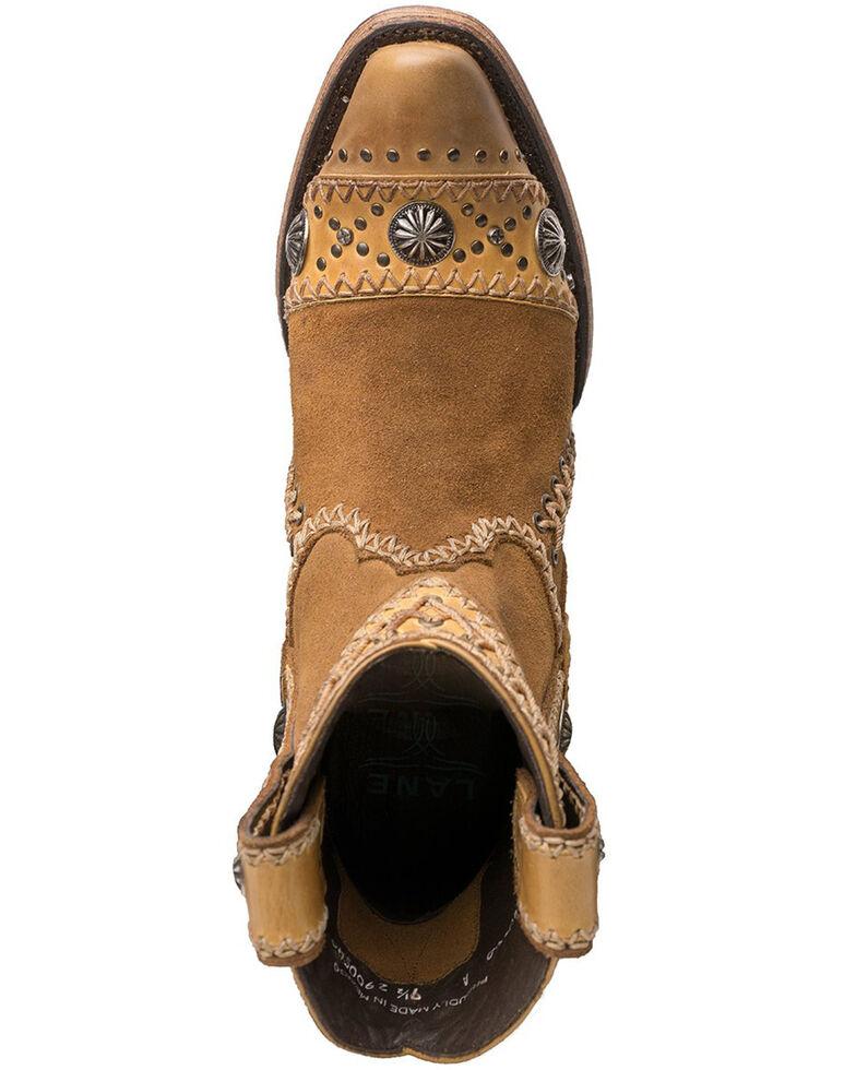 Lane Women's Wind Walker Fashion Booties - Snip Toe, Tan, hi-res