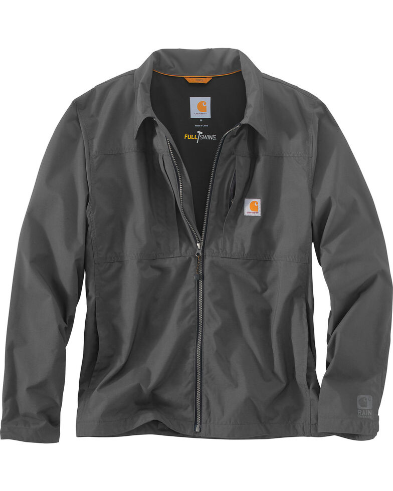 Carhartt Men's Charcoal Full Swing Briscoe Work Jacket, Charcoal, hi-res