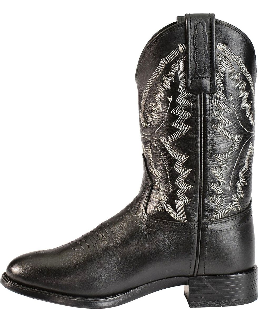 Jama Children's Ultra-Flex Roper Boots, Black, hi-res