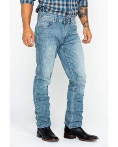 Cody James Men's Winslow Slim Straight Jeans , Blue, hi-res