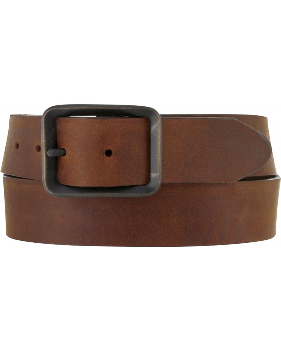 Chippewa Men's Buckskin Leather Belt , Bark, hi-res