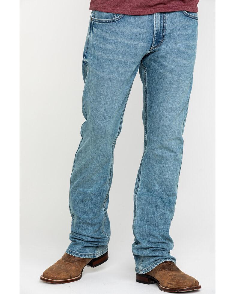 Wrangler 20X Men's No. 42 Light Vintage Stretch Slim Bootcut Jeans - Long , , hi-res