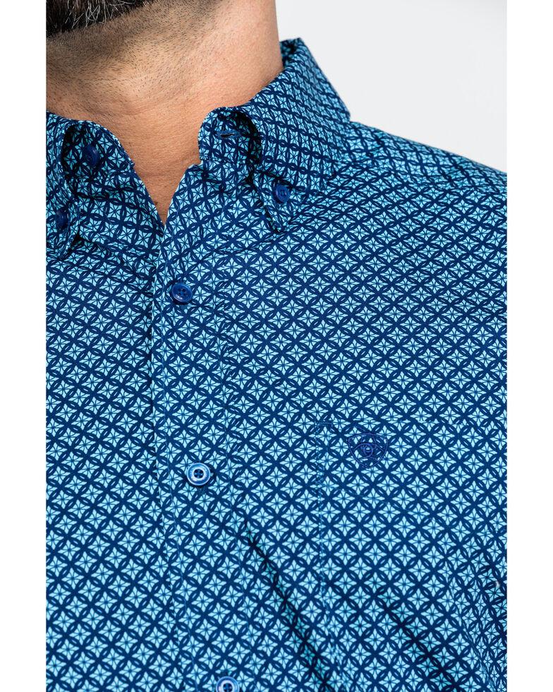 Ariat Men's Akimoto Geo Print Long Sleeve Western Shirt , Multi, hi-res