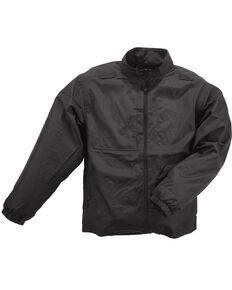 5.11 Tactical Men's Packable Jacket - 3XL and 4XL, Black, hi-res