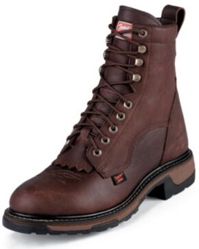 Tony Lama Men's TLX Waterproof Western Work Boots, Briar, hi-res