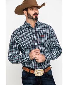 Ariat Men's Relentless Tough Stretch Plaid Long Sleeve Western Shirt , Multi, hi-res