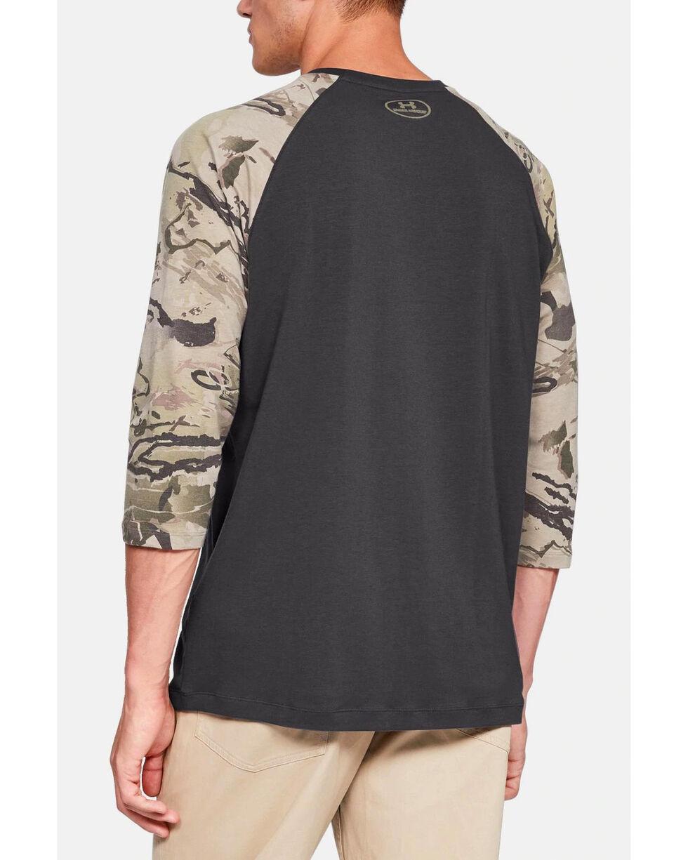 Under Armour Men's Ridge Reaper Hunting Baseball Shirt , Grey, hi-res