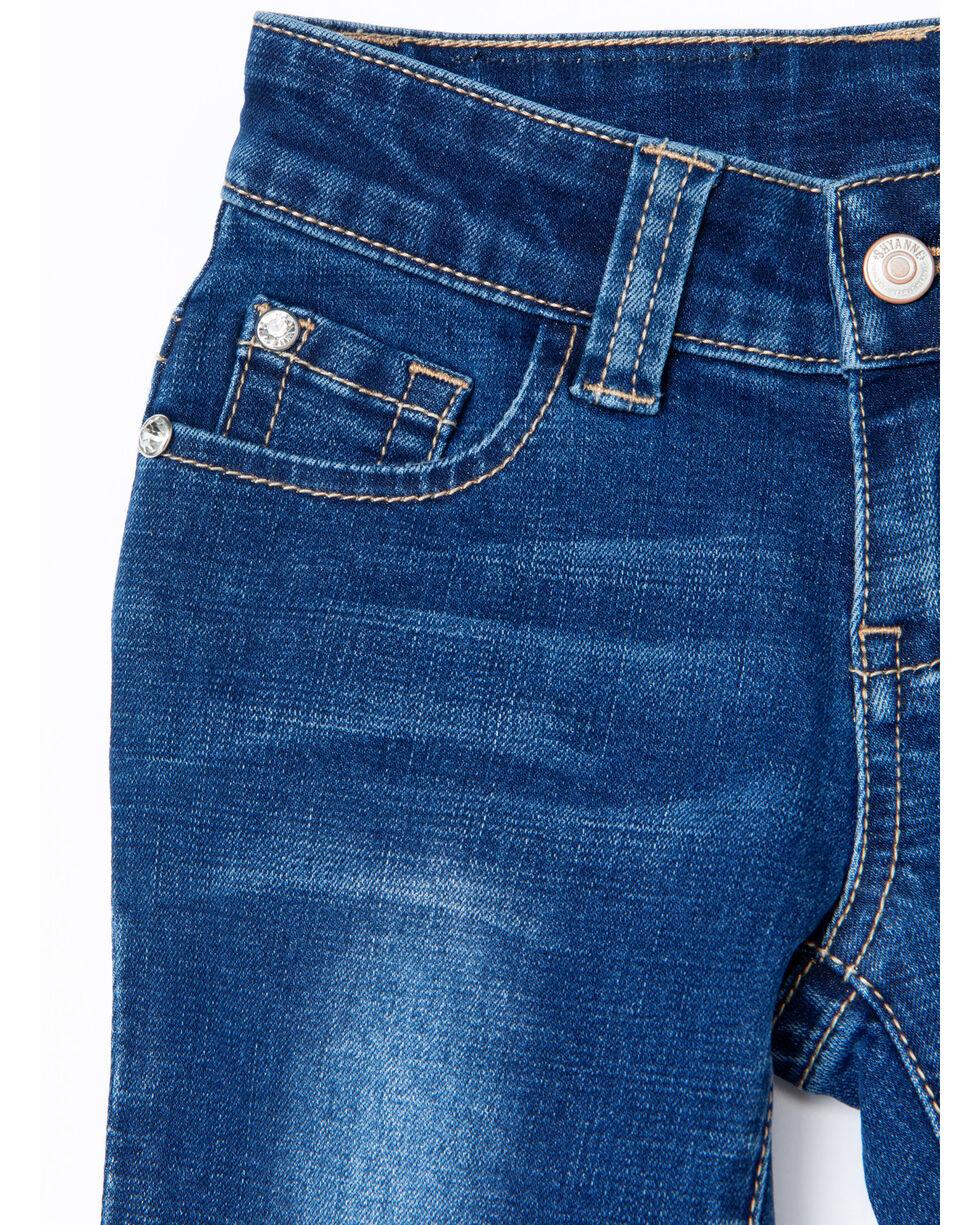Shyanne Girls' Dream Catcher Dark Wash Denim Boot Jeans , Blue, hi-res