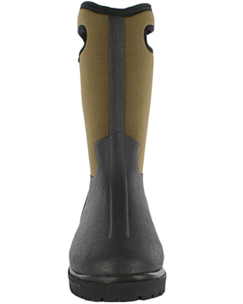 Bogs Men's Roper Insulated Waterproof Work Boots - Round Toe, Black, hi-res
