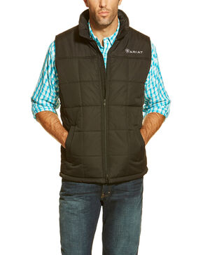 Ariat Men's Crius Vest, Black, hi-res