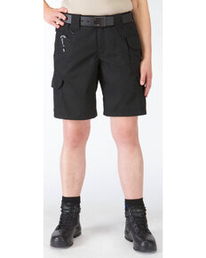 5.11 Tactical Women's Taclite Pro Shorts, Black, hi-res