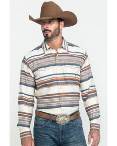 Ariat Men's Johndale Retro Striped Long Sleeve Western Shirt , Multi, hi-res