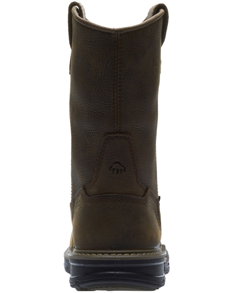 Wolverine Men's Bandit Waterproof Western Work Boots - Soft Toe, Dark Brown, hi-res