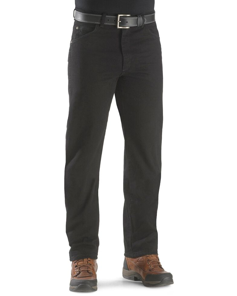 Wrangler Rugged Wear Classic Fit Jeans , Black, hi-res