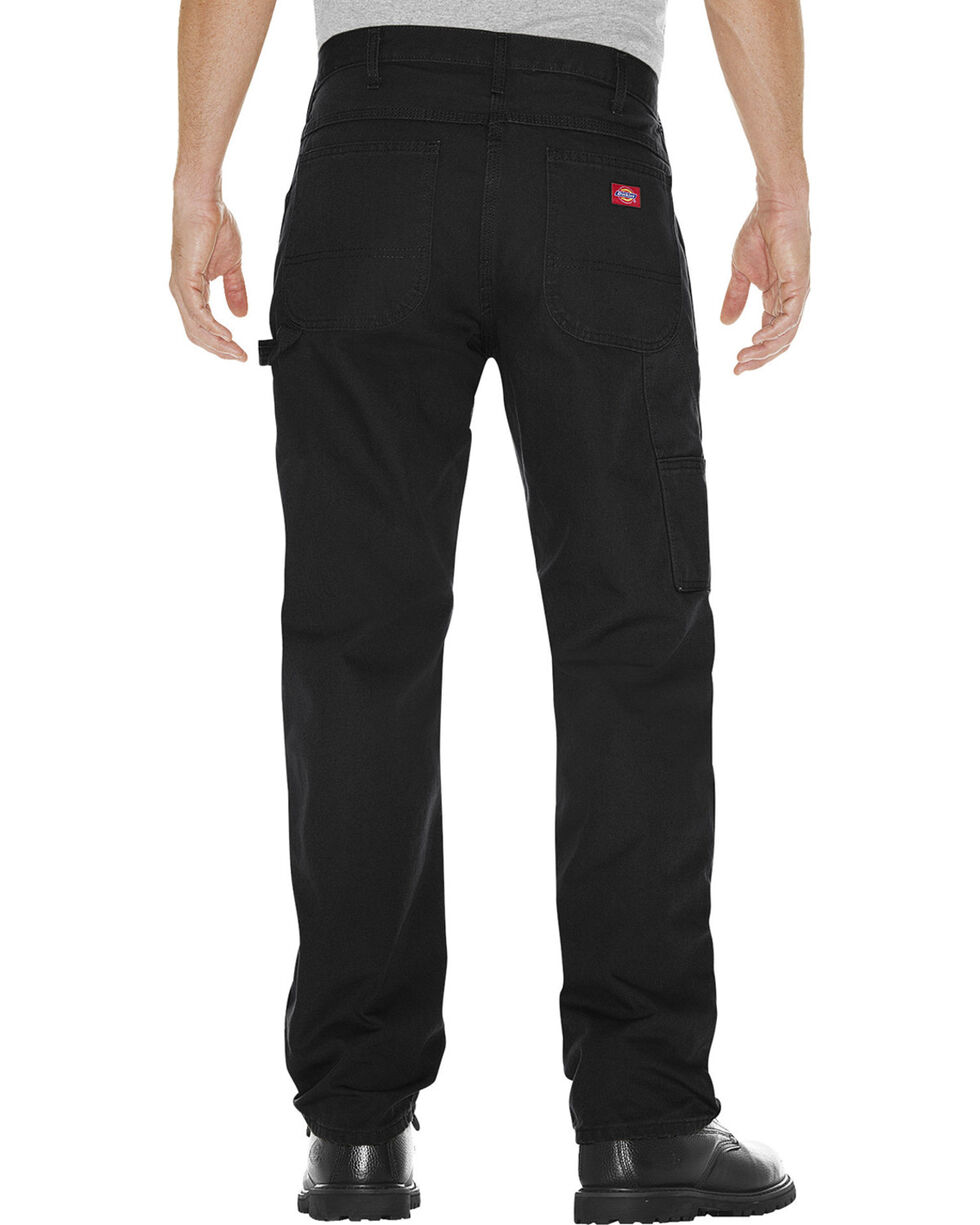 Dickies Relaxed Fit Carpenter Jeans - Big and Tall, Black, hi-res