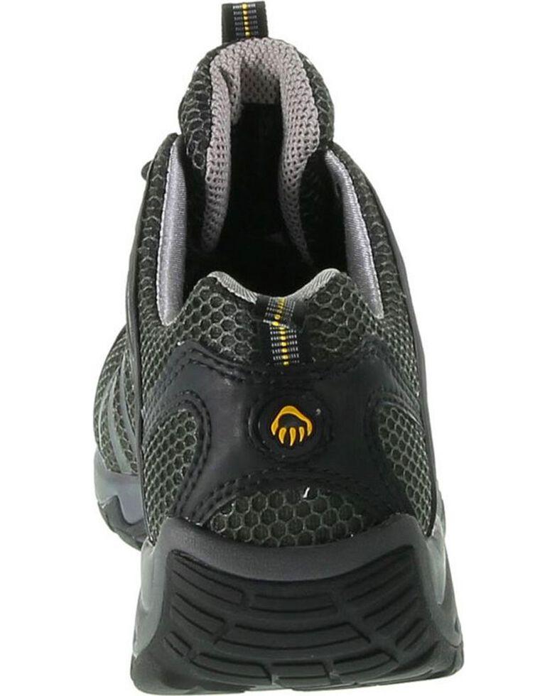 Wolverine Men's Mid-Cut Trail Runner Work Shoes, Black, hi-res