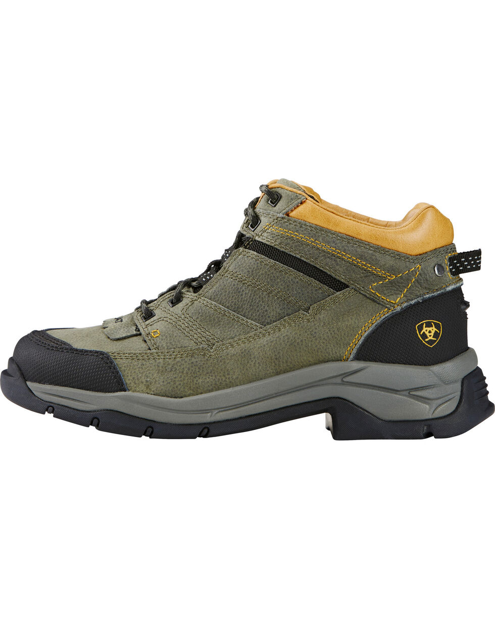 Ariat Men's Terrain Pro Outdoor Boots, Olive, hi-res