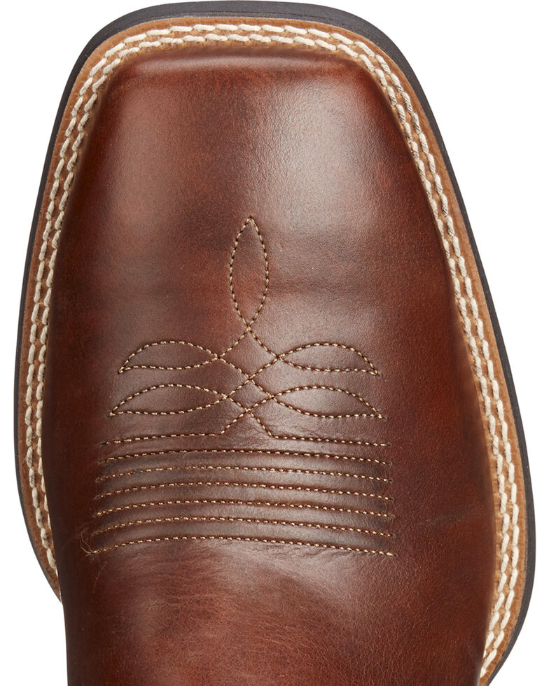 66d195e4a Zoomed Image Ariat Men's Brown Sport Stonewall Native Western Boots - Square  Toe , Brown, hi-