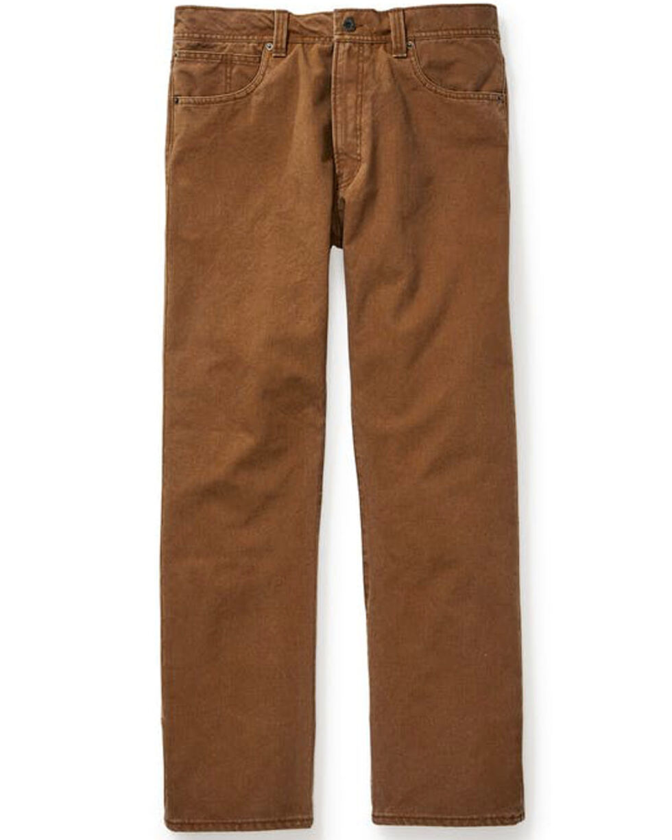 Filson Men's Dry Tin Cloth 5 Pocket Pants , Cognac, hi-res