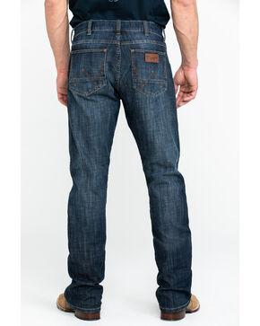 Wrangler Men's Retro Slim Boot Jeans , Dark Blue, hi-res