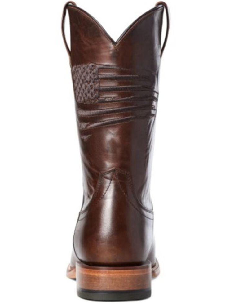 Ariat Men's Circuit Patriot Western Boots - Square Toe, Brown, hi-res