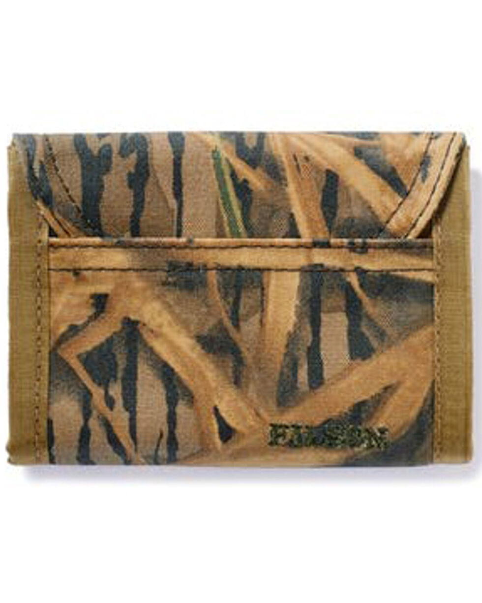 Filson Mossy Oak Print Camo Tin Cloth Smokejumper Wallet, Camouflage, hi-res