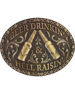 Cody James® Hell Raisin' Buckle, Bronze, hi-res