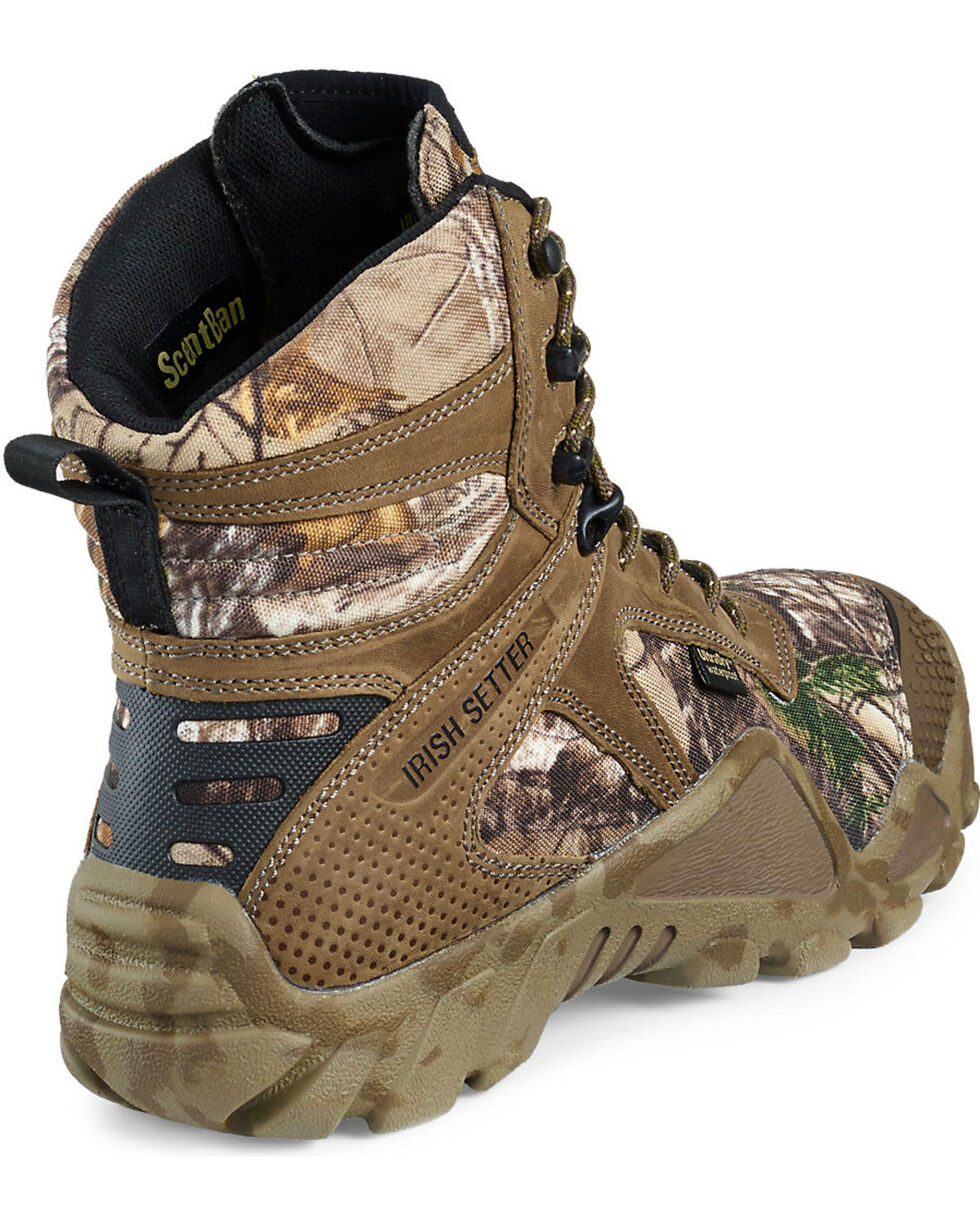 "Irish Setter by Red Wing Shoes Men's Realtree Xtra Vaprtrek Insulated Waterproof 8"" Boots , Camouflage, hi-res"