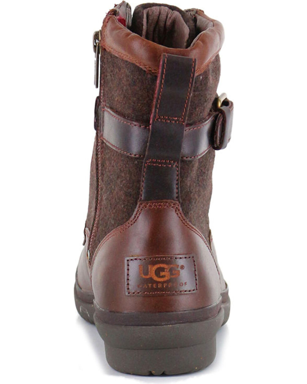 UGG® Women's Kesey Waterproof Fashion Boots, Chestnut, hi-res