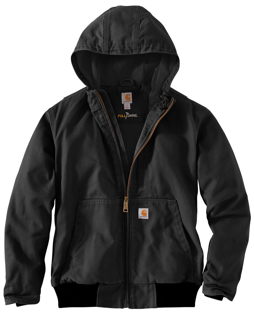 Carhartt Men's Full Swing Armstrong Active Jacket , Black, hi-res