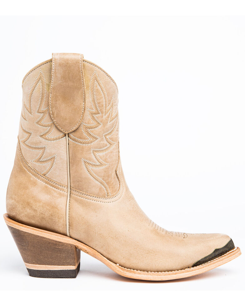 Idyllwind Women's Wheels Natural Fashion Booties - Round Toe, Natural, hi-res