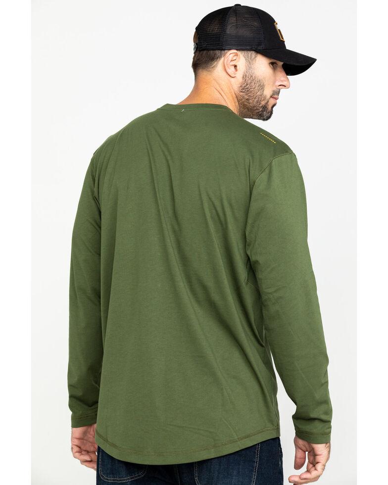 Ariat Men's Rebar Workman Long Sleeve Work Shirt , Green, hi-res