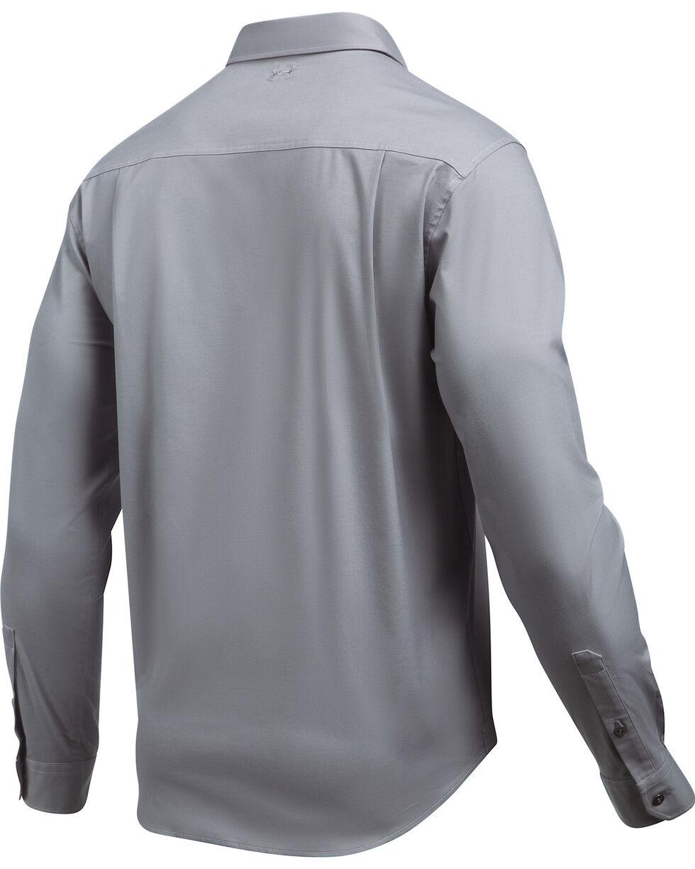 Under Armour Men's Cascade Chambray Shirt , Dark Grey, hi-res
