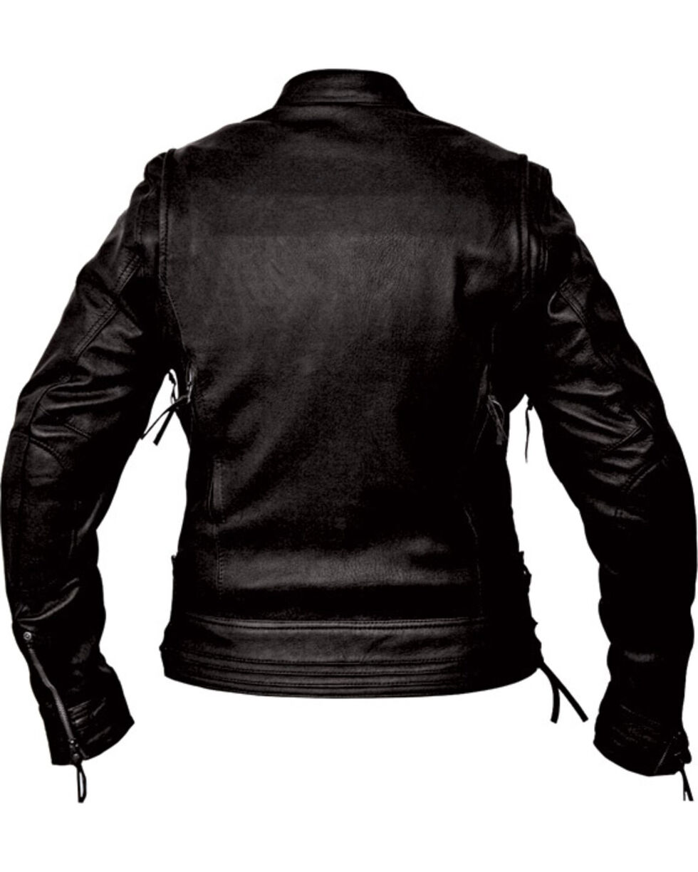Interstate Leather Women's Jazz Jacket, Black, hi-res