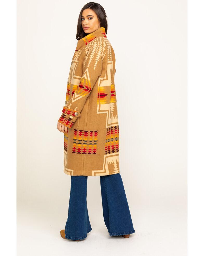 Pendleton Women's Tan Harding Jacquard 1930 Archive Jacket, Tan, hi-res