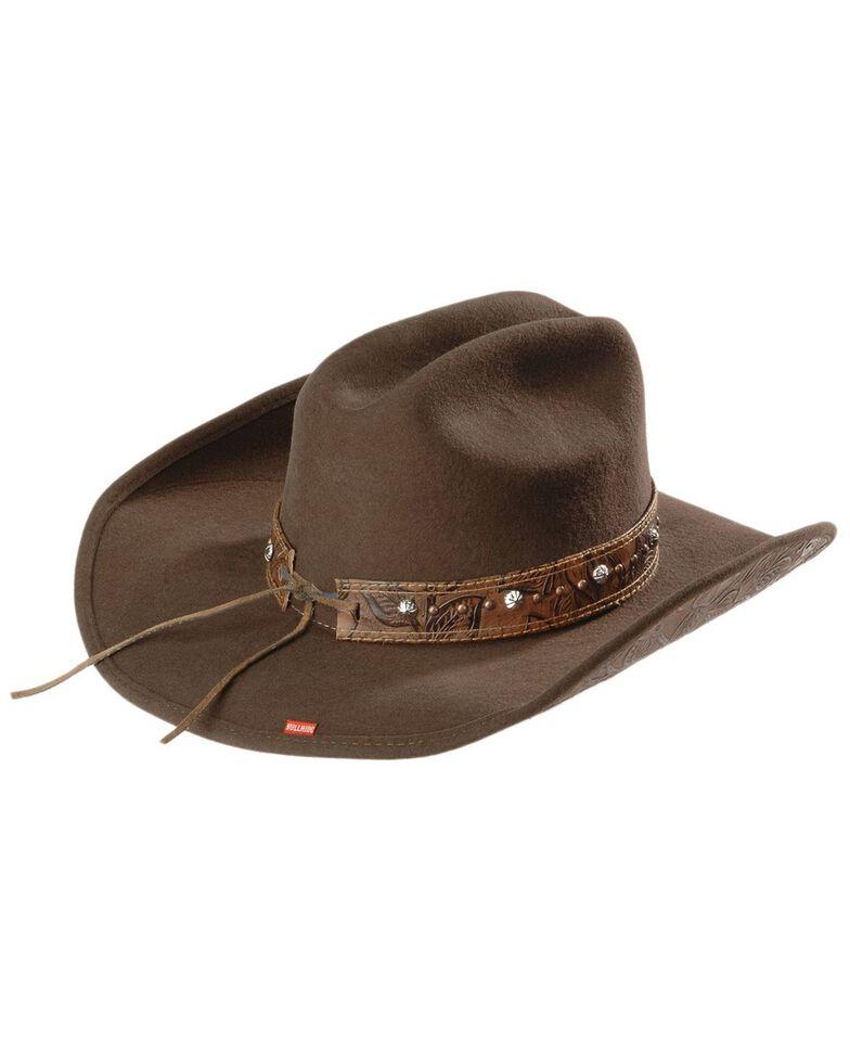 Bullhide Women's Great Divide Wool Hat, Brown, hi-res