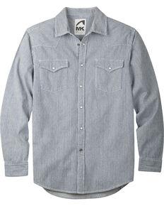 Mountain Khakis Men's Long Sleeve Original Mountain Shirt, Grey, hi-res