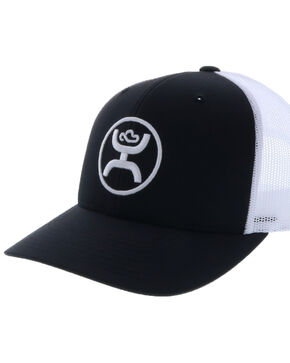 "HOOey Men's Black ""O"" Classic Cap, Black, hi-res"