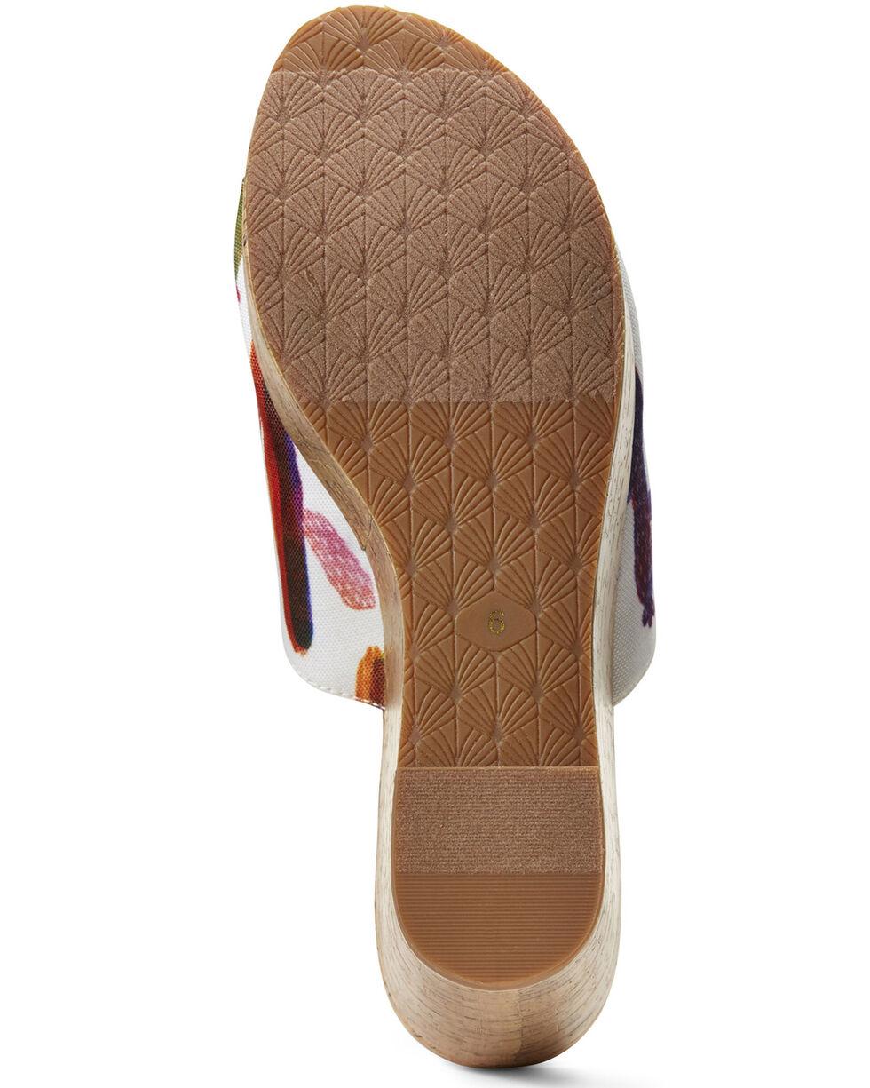 Ariat Women's Unbridled Layla Cactus Sandals, Green, hi-res