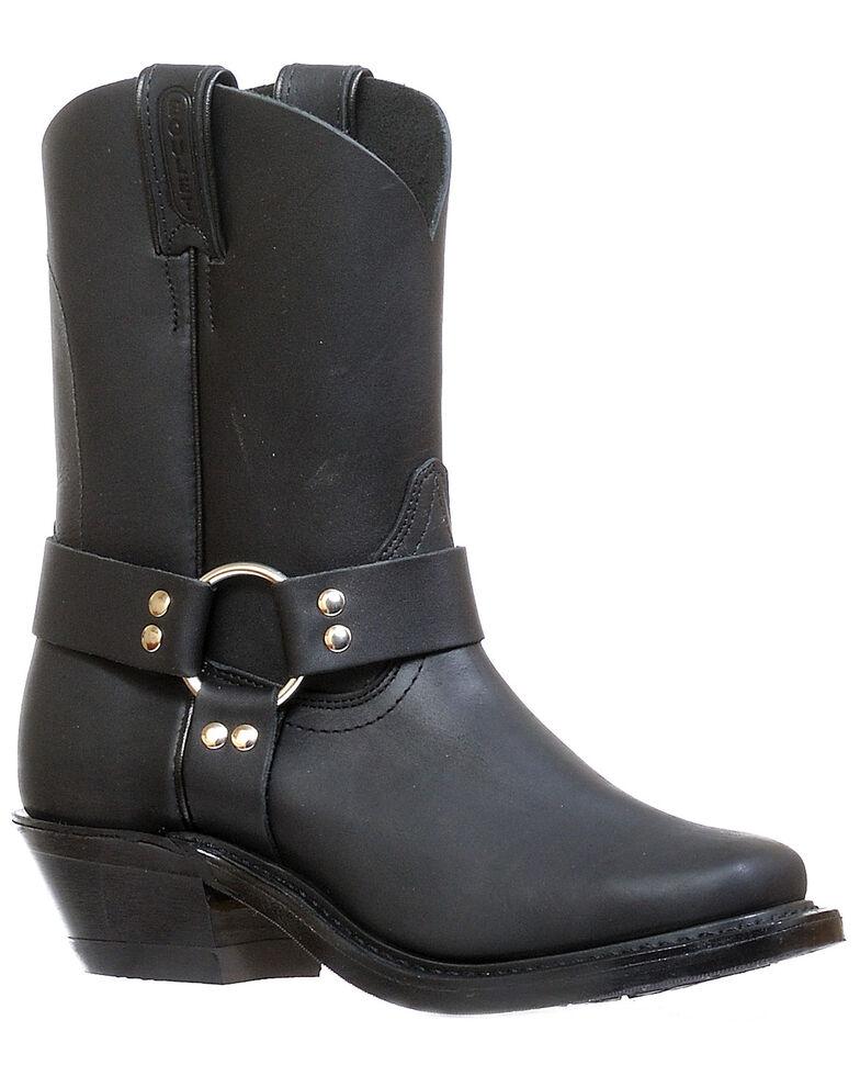 Boulet Women's Motorcycle Boots - Narrow Square Toe, Black, hi-res
