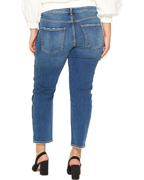 Silver Women's Vintage Dark Wash Slim Leg Jeans - Plus, Indigo, hi-res