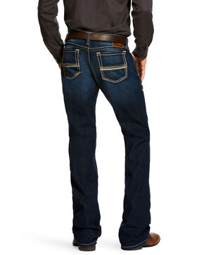 Ariat Men's Tanner Dodge Straight Leg Jeans, Indigo, hi-res