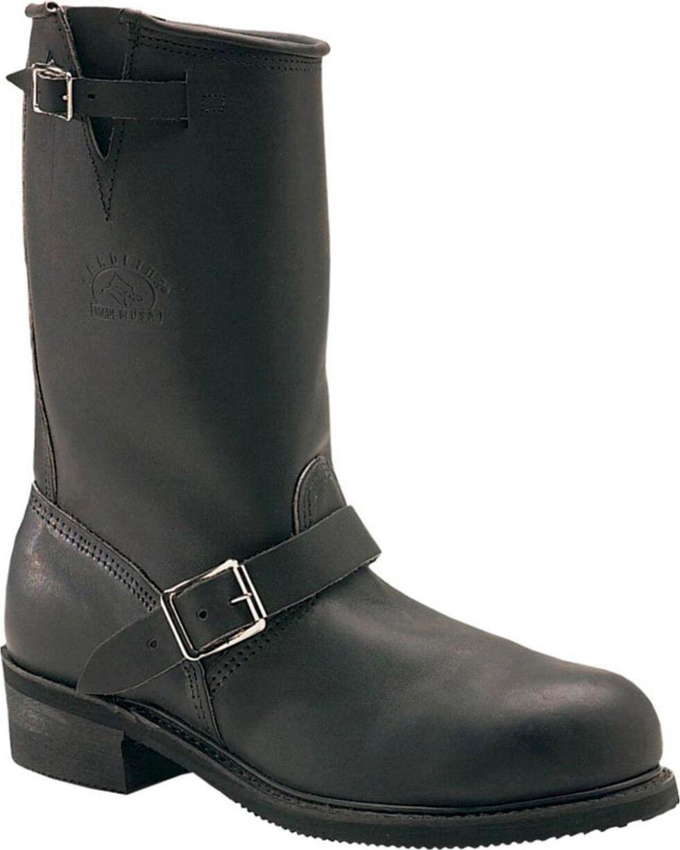 "Carolina Men's Engineer 12"" Steel Toe Work Boots, Black, hi-res"