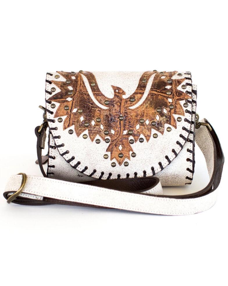 Juan Antonio Women's Thunderbird Rodeo Cross Body Bag, Ivory, hi-res
