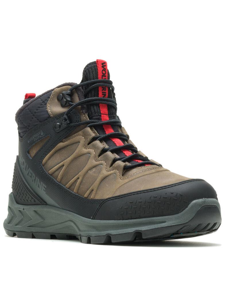 Wolverine Men's Polar Range Work Boots - Soft Toe, Grey, hi-res
