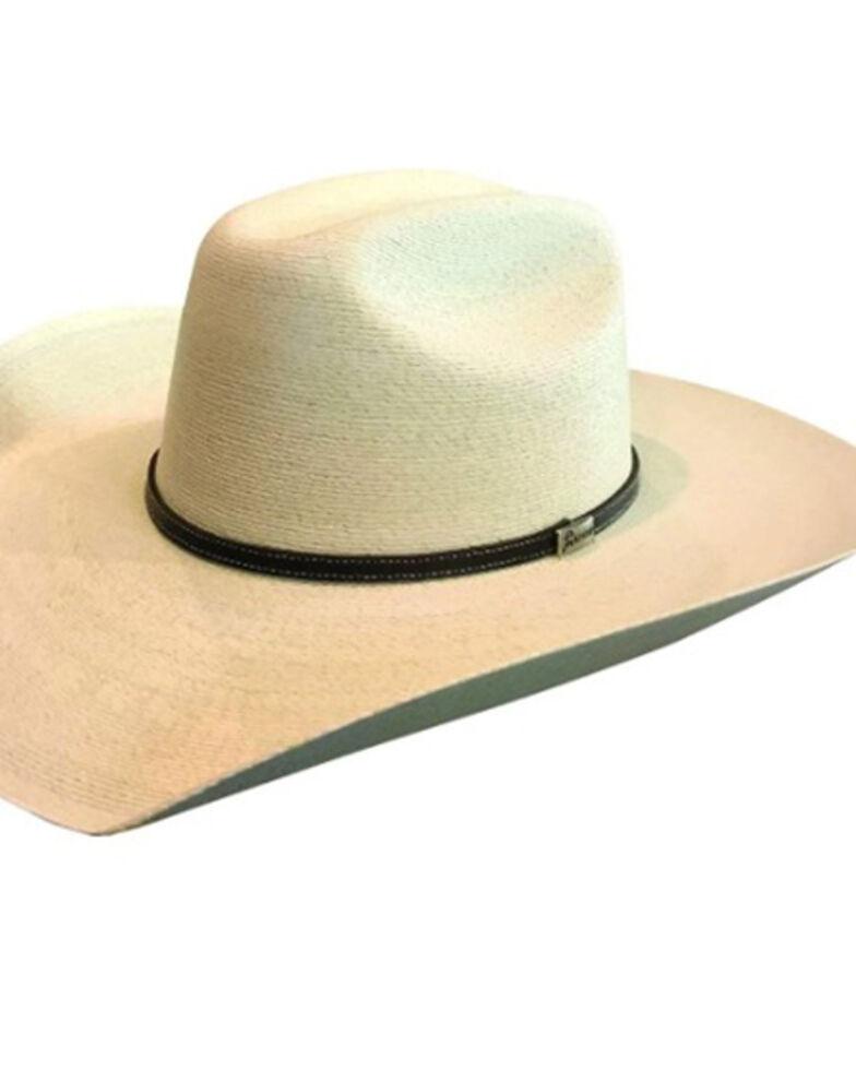 Atwood Men's 7X Natural Hertford Palm Leaf Western Hat , Natural, hi-res