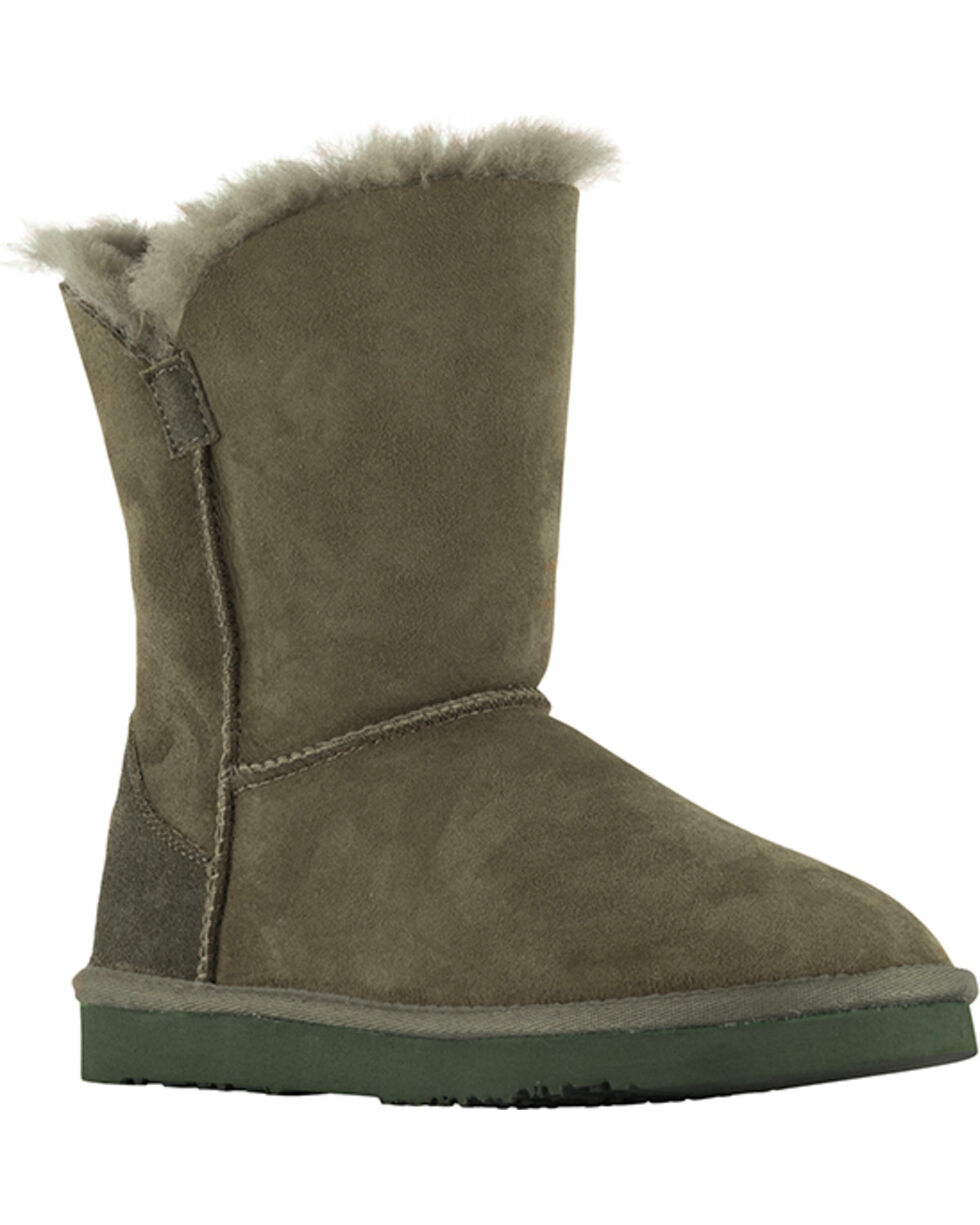 "Lamo Footwear Women's Liberty 9"" Boots , Dark Green, hi-res"